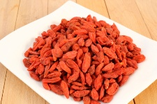 Goji berries are normally served dried.