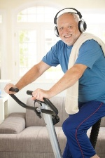 Keeping active and listening to music can help beat seasonal stress.