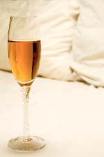 Alcohol before bed affects REM sleep.