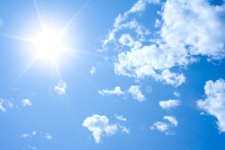 The sun is a great source of vitamin D.