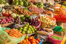 Eating more fruits and vegetables can protect against acid buildup.