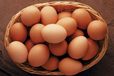 Eggs contain omega-6 fatty acids, such as linoleic acids, which are essential for the human body.
