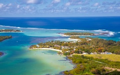 Mauritius is an island in the Indian Ocean off the southeast coast of Africa.