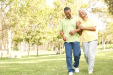 For those of you who can't jog due to other health issues, walking can help lower your risk for some major health complications.