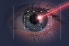 Many people opt for LASIK surgery.