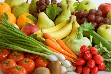 You can actually get lots of the nutrients for strong bones from fruits and vegetables.