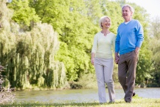 A 15-minute walk after eating a meal can help reduce risk factors for diabetes.
