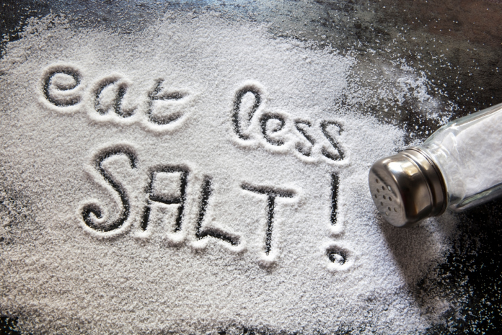 Less Sodium More Effective vs. Meds in Preventing Death from Heart Disease