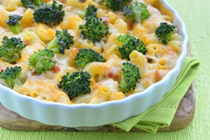 Vegan Macaroni and Cheese with Broccoli