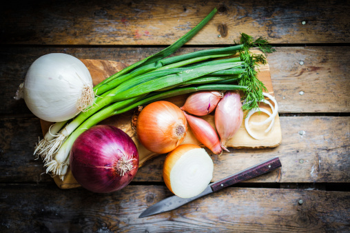 Onion improves cholesterol and blood sugar