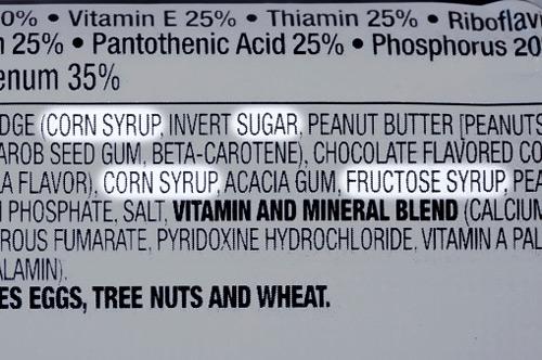 Sugar and Corn syrup