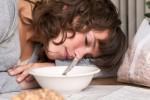 food induced coma