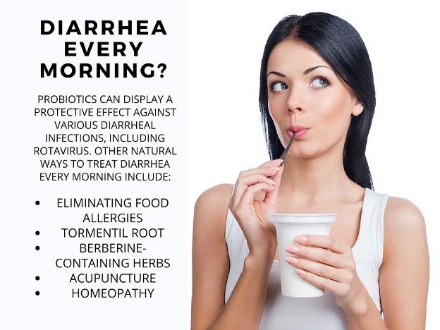 Natural Ways to Treat Diarrhea Every Morning