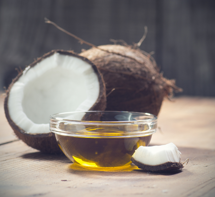 coconut oul as Substitute for Vegetable Oil