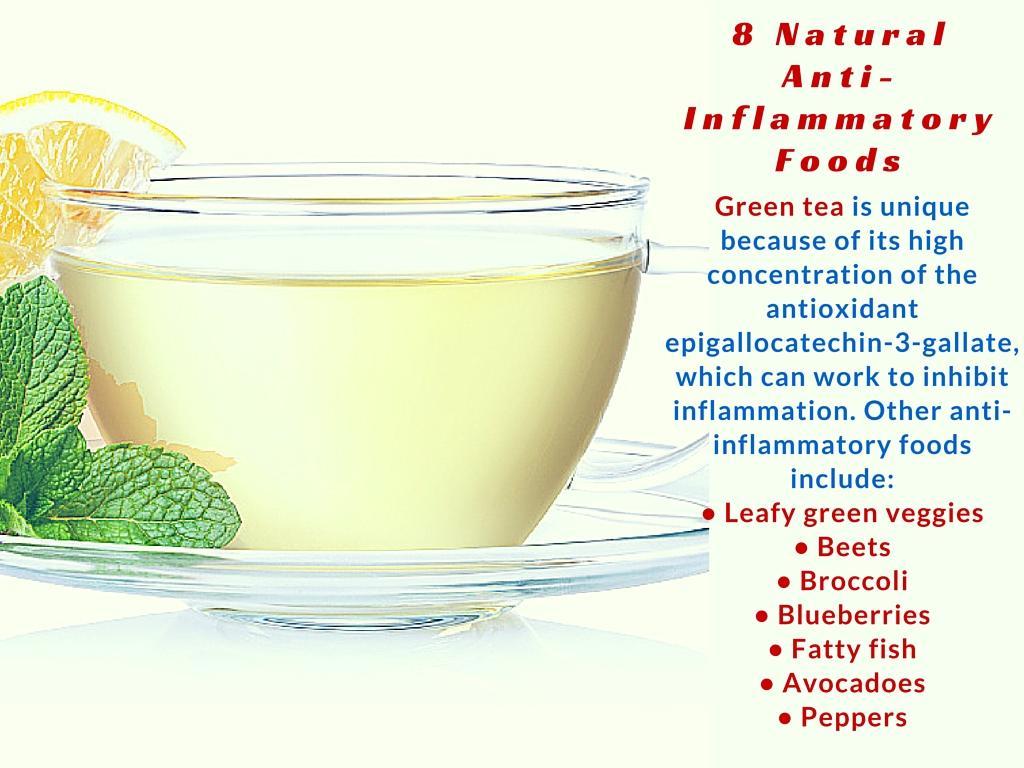 anti-inflammatory food list