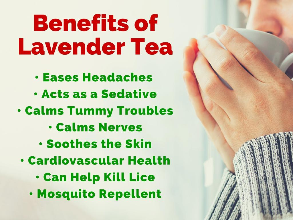benefits of lavender tea