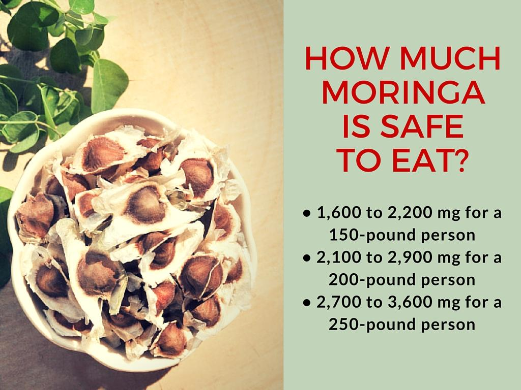 moringa seeds dosage