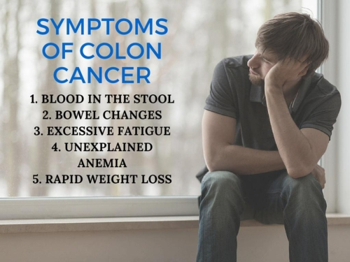 top 5 signs of colon cancer in men, Human Body