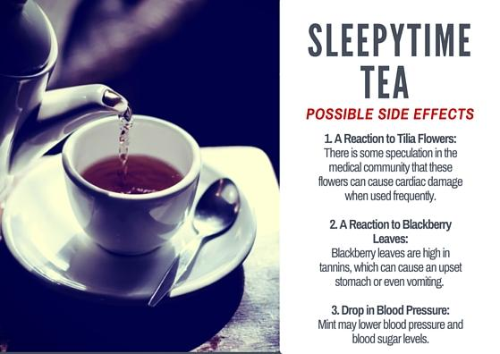 the Side Effects of Sleepytime Tea
