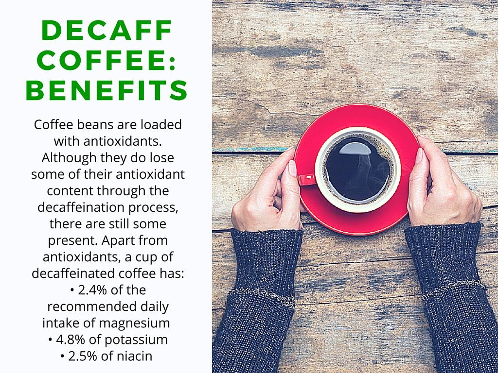 Decaf coffee side effects