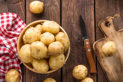 regular potatoes