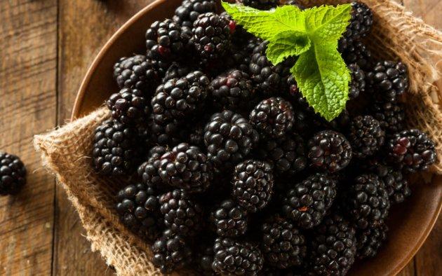 Blackberries benefits