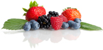"Medical science has long understood that  berries are healing foods, with nearly unparalleled  concentrations of nutritional value in their tiny, round bodies.  Well, here is a new piece of evidence about these healing foods  that come in so many flavors and colors. Researchers have  found that adults who regularly eat berries may have a lower  risk of developing Parkinson's disease. The key is ""flavonoids."""