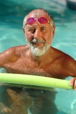 Swimming and other light exercise are beneficial for arthritis sufferers.