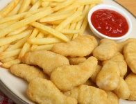 Fast food is still loaded with fat and calories