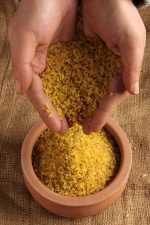 Bulgur can be served in a variety of ways.