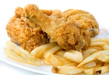 Increased risk of prostate cancer linked to deep fried food.