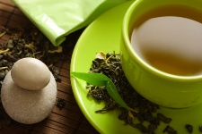 Green tea is a rich source of the polyphenol epigallocatechin gallate, or EGCG.