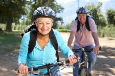 Riding your bike is a great way to get exercise.