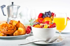 People who eat breakfast every morning are less likely to become obese.