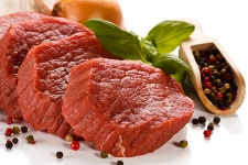 When you eat a lot of red meat, your risk for certain cancers could go up.