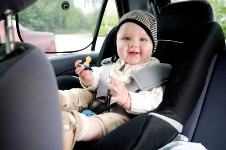 Buckling up is necessary for passenger safety.