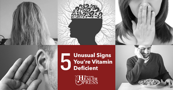 Signs You're Vitamin Deficient