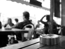 A recent study showed that second hand smoke outdoors could pose a health problem.
