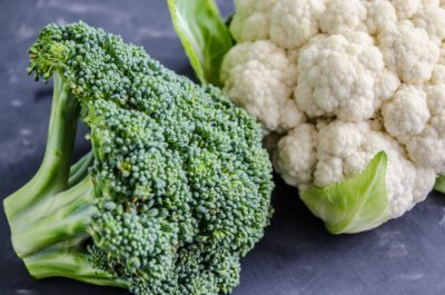 broccolli vs cauliflower