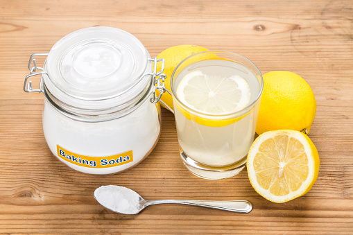 Lemon and Baking Soda