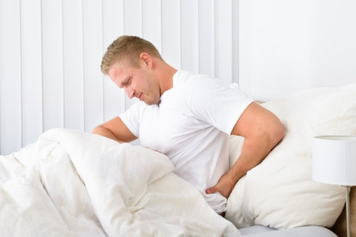 Constipation and Back Pain