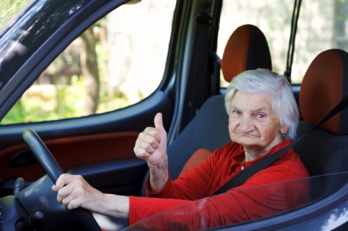 Seniors and driving effects