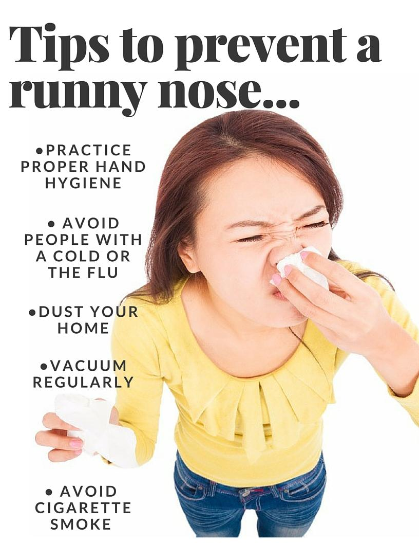 runny nose we got something for you