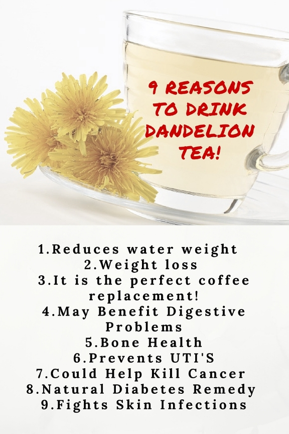 Reasons to Drink Dandelion Tea