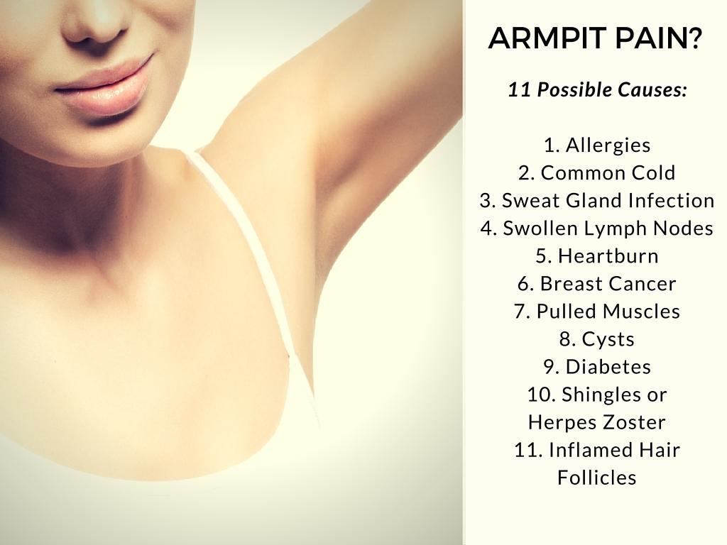 armpit pain