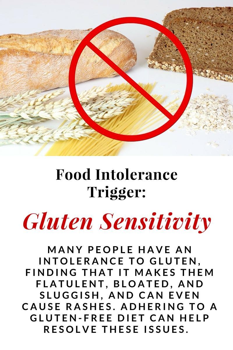 food intolerance triggers