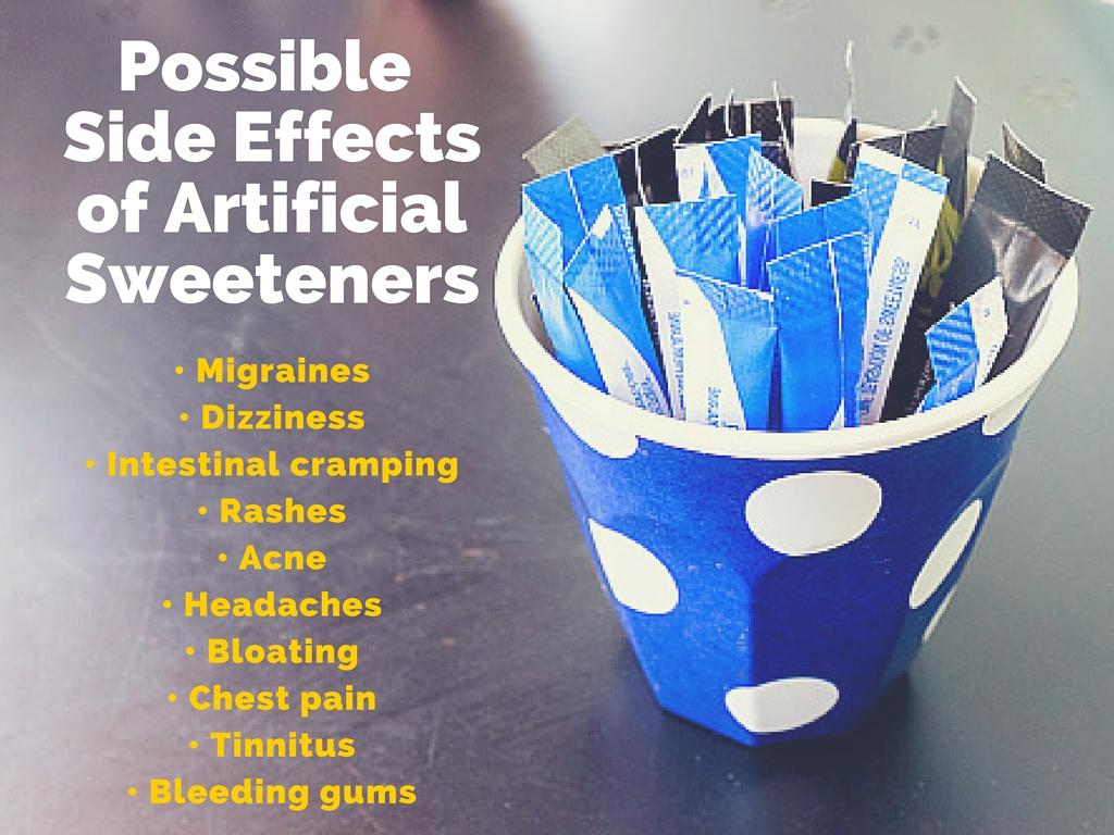 side effects of artificial sweetners