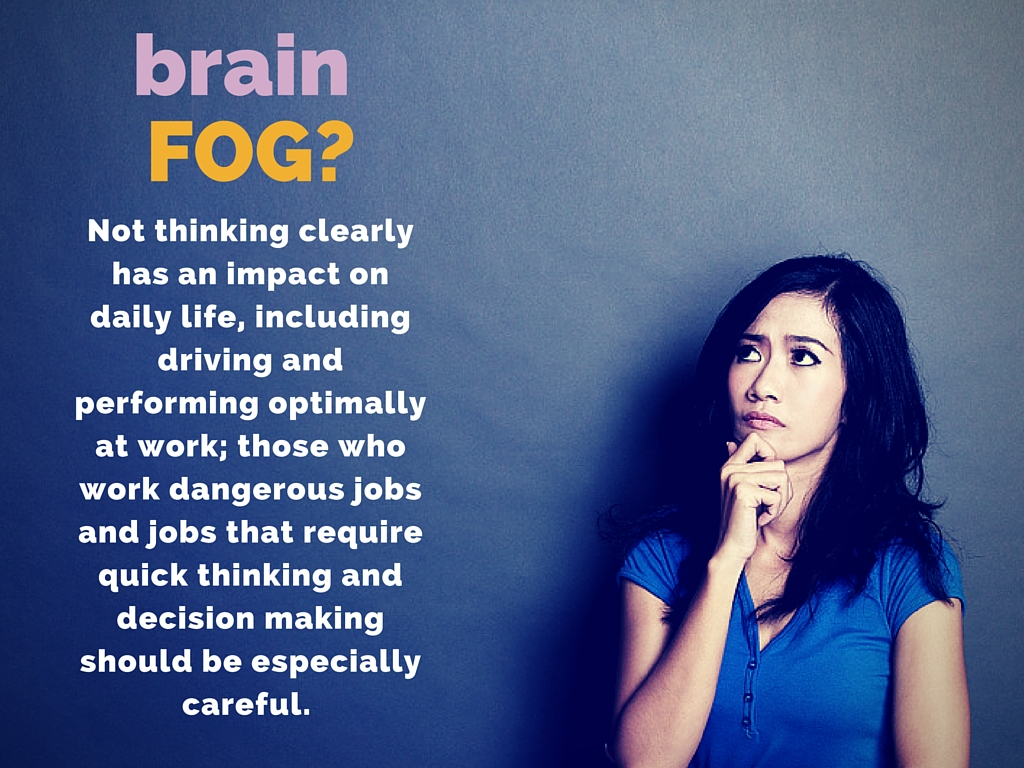 how to clear up brain fog