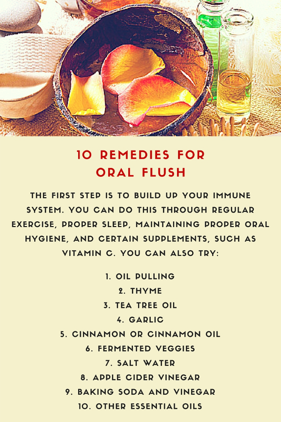 oral thrush remedies