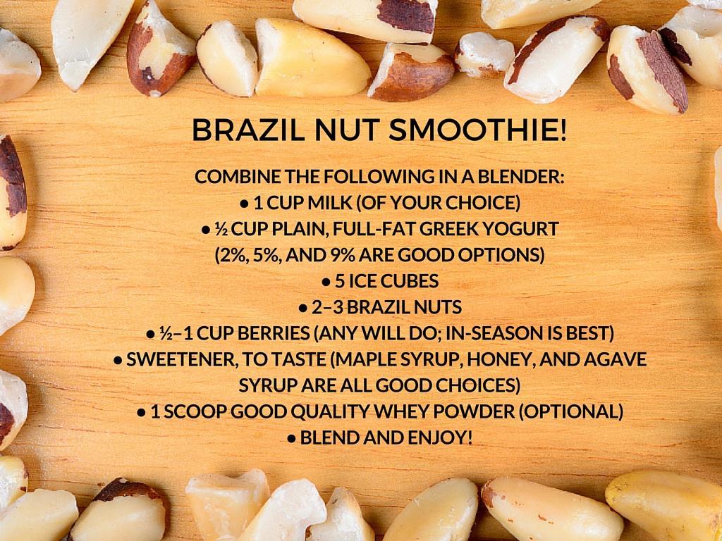 brazil nut smoothie
